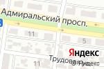 Схема проезда до компании А-Банк, ДП в Одессе
