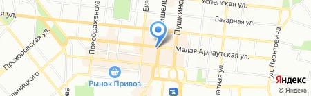 Dolce cafe на карте Одессы