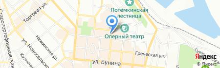 Белла Донна на карте Одессы