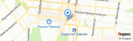 Stvol на карте Одессы