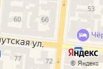 Схема проезда до компании English University в Одессе