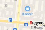 Схема проезда до компании Laboca в Одессе