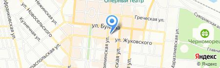 Модесса ЧП на карте Одессы
