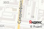 Схема проезда до компании Brand Hall в Одессе