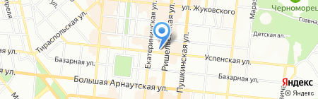 Тантал Тур на карте Одессы