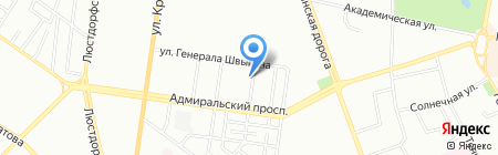 ИНВЕСТОРС ГРУП на карте Одессы