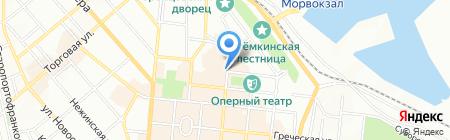 Aqua на карте Одессы