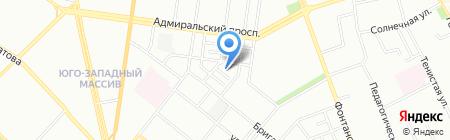 Детский сад-ясли №173 на карте Одессы