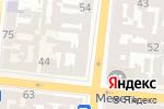 Схема проезда до компании Подорожник в Одессе