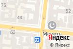 Схема проезда до компании Будмайс в Одессе