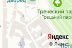 Схема проезда до компании Центр страхования и автоэкспертизы в Одессе