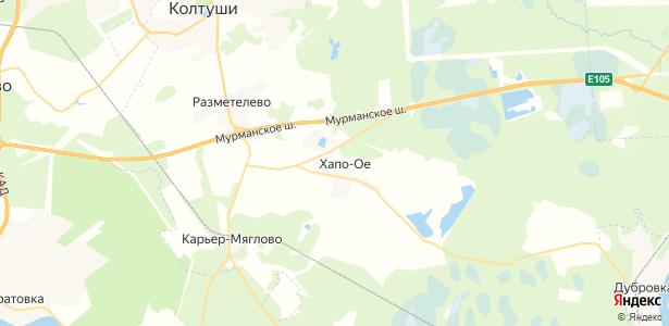 Хапо-Ое на карте