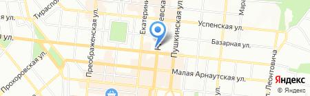 Учебно-наглядные пособия на карте Одессы