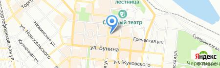 Del Prado на карте Одессы