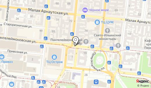 Горпресса. Схема проезда в Одессе