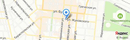 In Style на карте Одессы