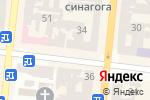Схема проезда до компании Frisor barbershop в Одессе