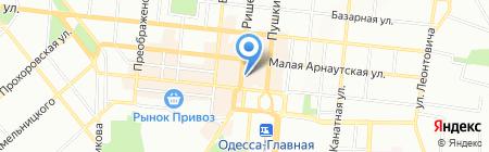 Русские пельмени на карте Одессы