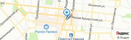 Music-Hall на карте Одессы