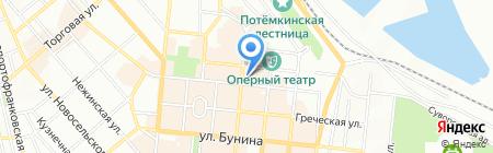 Південна асоціація професійних видів єдиноборств на карте Одессы