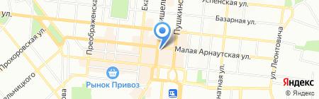 Кап-Кап на карте Одессы