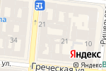 Схема проезда до компании Департамент переводов в Одессе