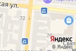 Схема проезда до компании Глоссарий в Одессе