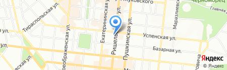 Спорт на карте Одессы