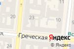 Схема проезда до компании Глосса в Одессе