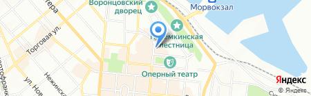 Картопляники на карте Одессы