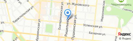 КанцКораллы на карте Одессы