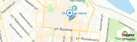 Laurel на карте Одессы