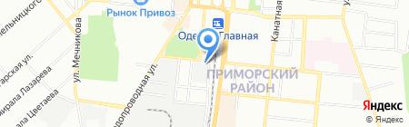 Неотепло на карте Одессы