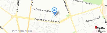 C.I.M. на карте Одессы