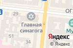 Схема проезда до компании Хеврон в Одессе