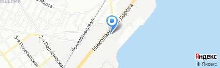 Астрофіт на карте Одессы