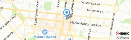 Astoria на карте Одессы