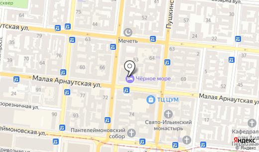 Astoria. Схема проезда в Одессе