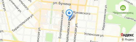 Хеврон на карте Одессы
