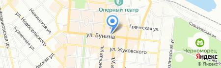 Лілі на карте Одессы