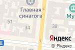 Схема проезда до компании Кp.od.ua в Одессе