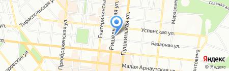 TIS Travel на карте Одессы