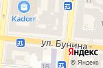 Схема проезда до компании Марафет в Одессе