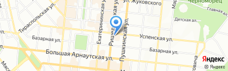 Афіна-DT ТОВ на карте Одессы