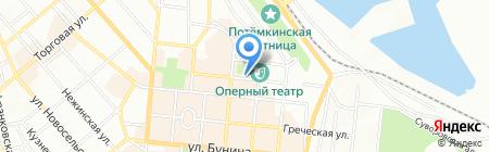 Salieri на карте Одессы