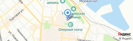 Глобус-Турс на карте Одессы