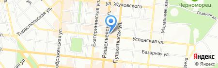 Банк Восток на карте Одессы