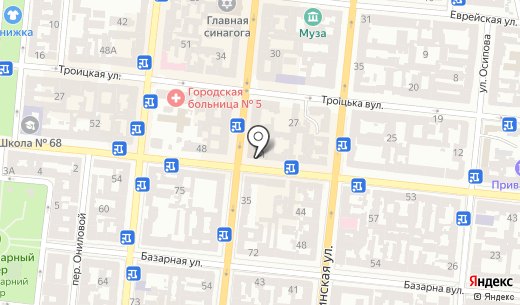 Банк Восток. Схема проезда в Одессе