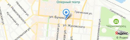 Здорова сім`я на карте Одессы