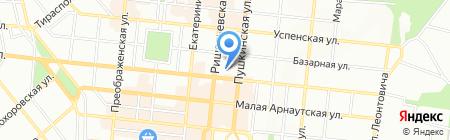 Банкомат Банк Київська Русь на карте Одессы